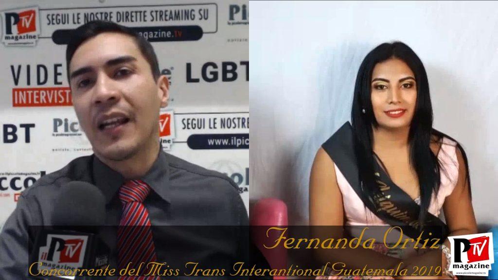 fernanda ortiz - miss trans international guatemala 2019n